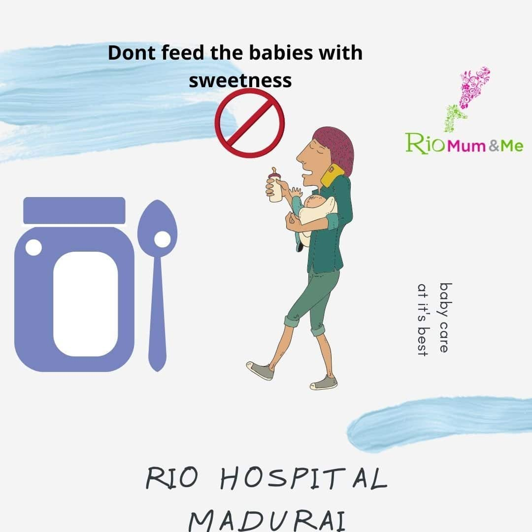SAY NO TO SWEETNESS FOR BABIES